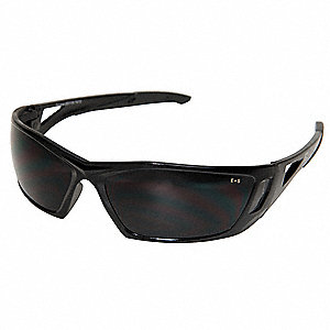 Delano Scratch-Resistant Safety Glasses, Smoke Lens Color