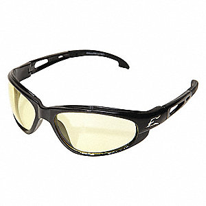 Dakura Scratch-Resistant Safety Glasses, Yellow Lens Color