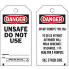 Danger/Unsafe Do Not Use Signed By: Date: / Danger/Do Not Remove This Tag To Do So Without Authority Will Mean Immediate Discharge. It Is Here For A Purpose Tags