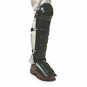 Unisex Plastic Knee-Shin-Instep Guard, Size: Universal