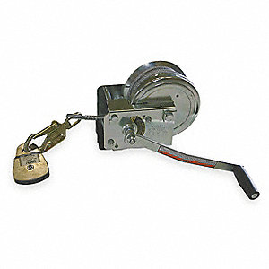Confined Space Winch,12 in. Wx11 in. H