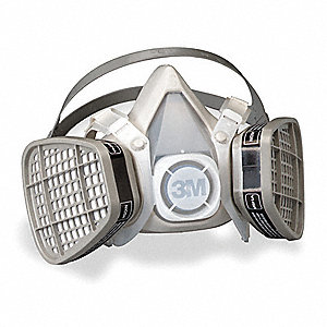 Disposable Half Mask Respirator,Fixed,S