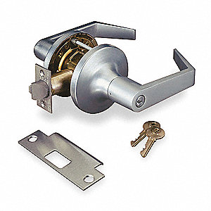 Lever Lockset,Mechanical,Classroom