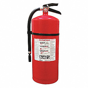 Dry Chemical Fire Extinguisher with 20 lb. Capacity and 19 to 22 sec. Discharge Time