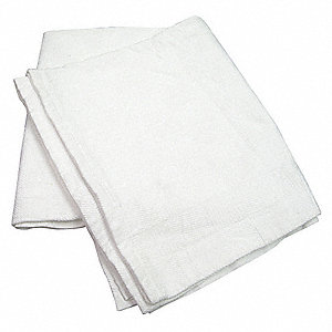 "90"" x 66"" Twin 100% Cotton Thermal Blanket, White"