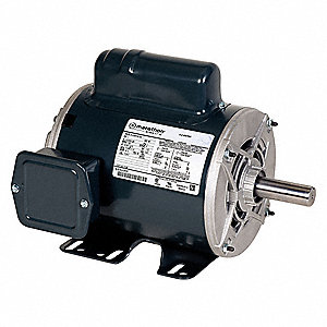 1-1/2 HP Commercial Duty Air Compressor Motor,Capacitor-Start,1725 Nameplate RPM,115/208-230 Voltage