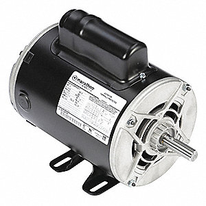 1-1/2 HP Commercial Duty Air Compressor Motor,Capacitor-Start,3450 Nameplate RPM,115/230 Voltage