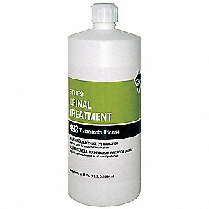Urinal Drain Maintainer, 1qt. Bottle, 1 EA