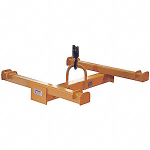Bulk Container Lifting Beam,2200lb,48in