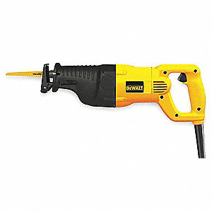 "1-1/8"" Blade Stroke Reciprocating Saw, 0 to 2700 Strokes per Minute, 8.6 lb."