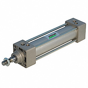 80mm Air Cylinder Bore Dia. with 175mm Stroke Aluminum , Tie-Rod Mounted Air Cylinder