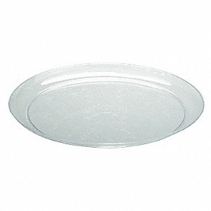 "9"" Round Plate, Clear&#x3b; PK240"