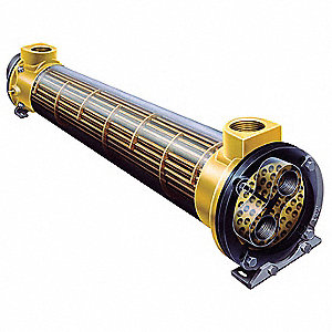Heat Exchanger,Shell And Tube,525K BTU