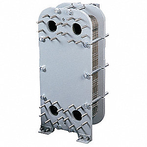Heat Exchanger,Plate and Frame,300K BTU