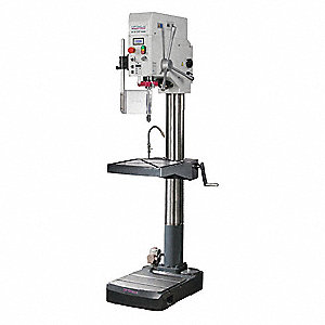 "Floor Drill Press,Belt,22"",3 HP,240V"