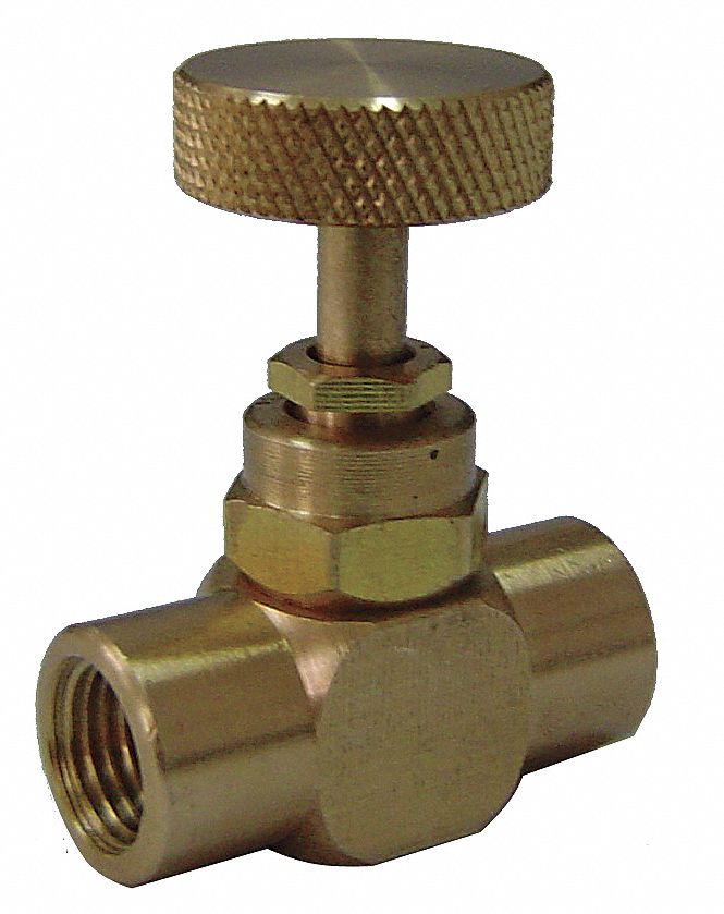 600 psi Needle Valve Directions Controlled : 1- Pack of 5 1//4 NPT Valve Inlet Port