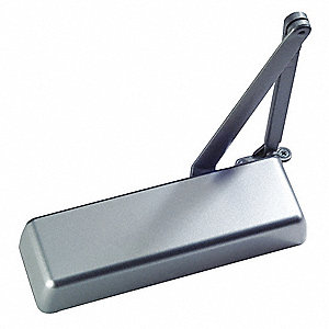 Hydraulic, Heavy Duty, Non-Handed/Reversible, Aluminum Door Closer