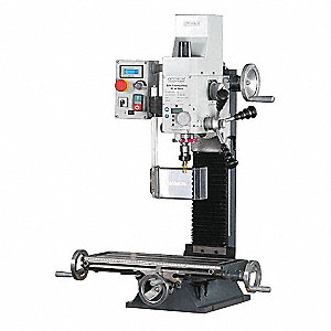 "Gear Head Mill/Drill, 1 Motor HP, 14"" Swing, 1750 RPM"