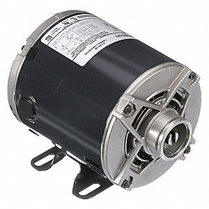 1/3 HP Split-Phase Carbonator Pump Motor, 1725 Nameplate RPM, 120/240 Voltage, 48Y Frame