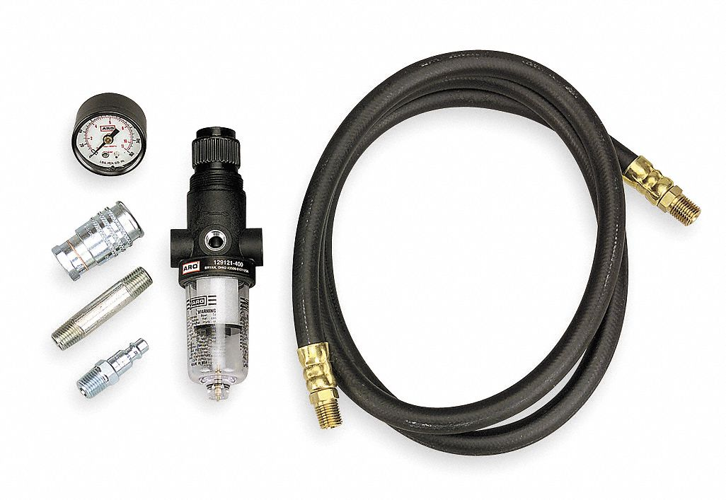 air line filter regulator with gauge 160 psi fnpt air coupler Air Pressure Regulator Valve air line connection kit includes air line filter regulator with gauge 160 psi fnpt air coupler
