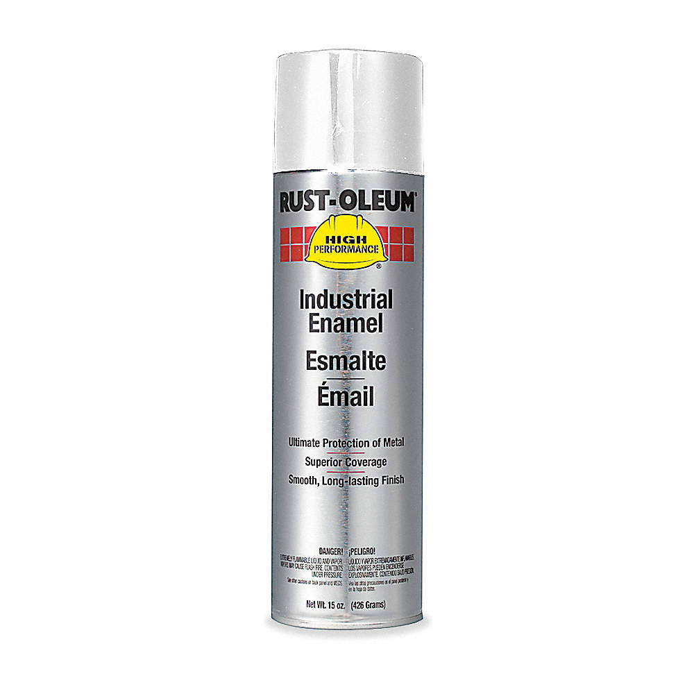 High Performance Rust Preventative Spray Paint in Flat White for Metal,  Steel, 15 oz