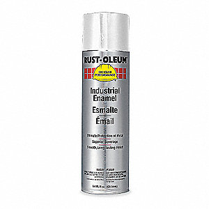 High Performance Rust Preventative Spray Paint in Gloss White for Metal, Steel, 15 oz.