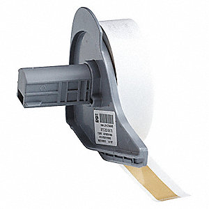 "Indoor/Outdoor Vinyl Film Label Tape Cartridge, Tan, 1/2""W x 50 ft."