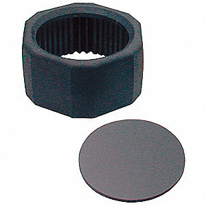 Lens and Holder, Infrared for C and D Cell Mag-Lite Flashlight