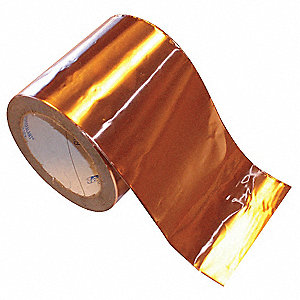 Copper Flashing,4in x 25ft