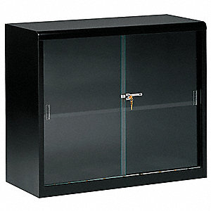 "36"" x 15"" x 30"" Stationary Bookcase with 2 Shelves, Black"