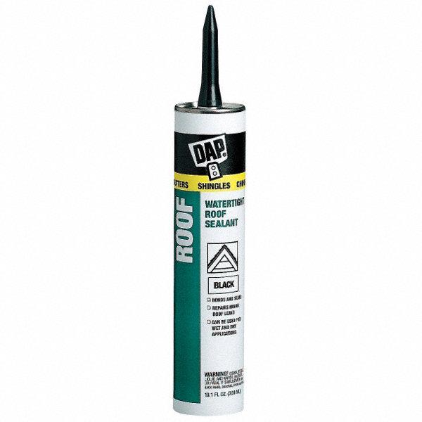 Dap Black Roof Sealant Hybrid 10 1 Oz Cartridge 5ufp4