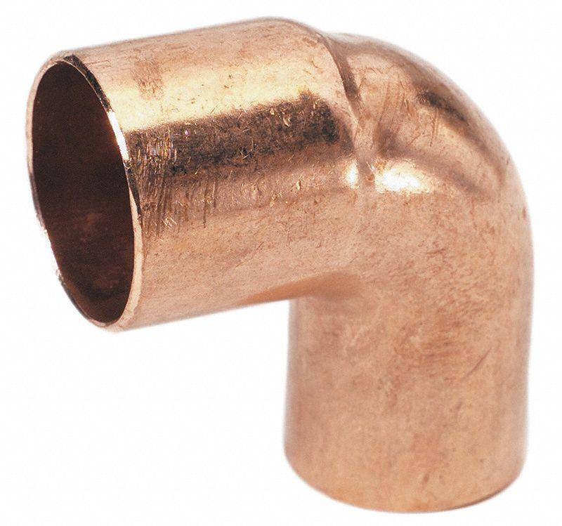 Mueller Industries 90 Elbow Wrot Copper 3 4 Ftg X C 5ugc9 W 01654 Grainger