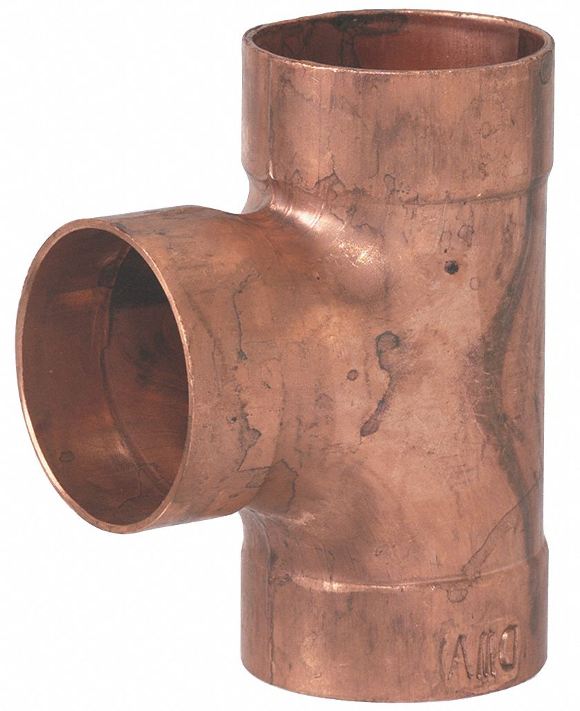 Mueller Industries Dwv Tee Wrot Copper 2 In C X C 5ugf7 W 07522 Grainger