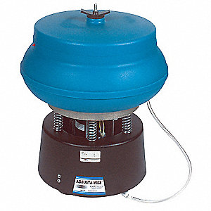 "Vibratory Tumbler, With Drain, 0.75 cu. ft., 75 lb. Weight Capacity, 21"" Bowl Dia."