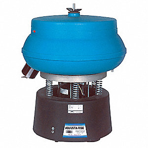 Vibratory Tumbler, With Drain and Discharge Port, 0.75 cu. ft., 75 lb. Weight Capacity