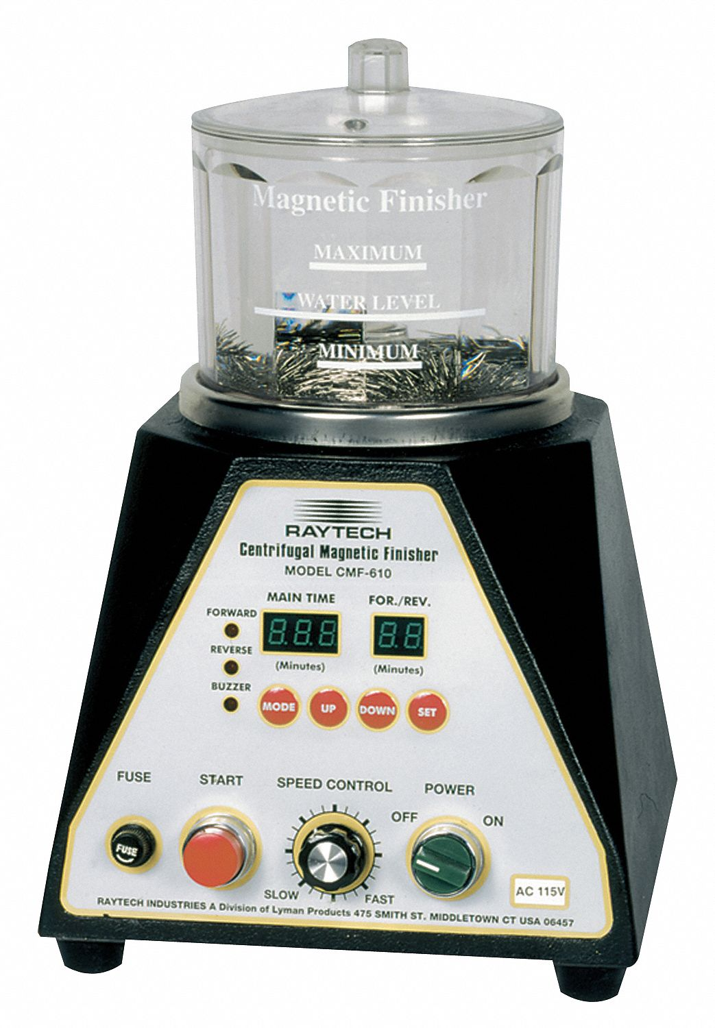 Centrifugal Magnetic Finishing Machines