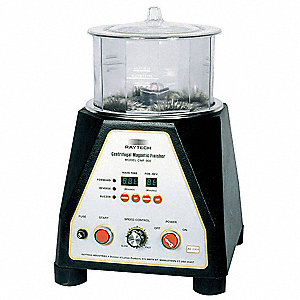 "200g Centrifugal Magnetic Finisher, 6"" Bowl Dia., 5"" Bowl Height, 115V, 2 Amps, 1/12 HP"