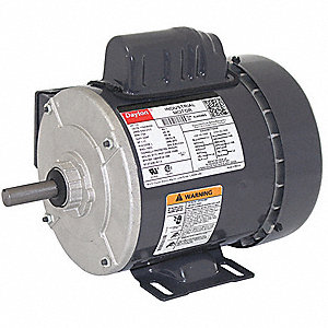 1/3 HP General Purpose Motor,Capacitor-Start,1725 Nameplate RPM,Voltage 115/208-230,Frame 56