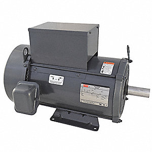 10 HP General Purpose Motor,Capacitor-Start/Run,1730 Nameplate RPM,Voltage 230,Frame 215T