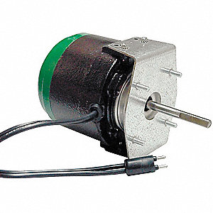 1/10 HP ECM Unit Bearing Motor,ECM,1550 Nameplate RPM,115 Voltage,Frame Non-Standard