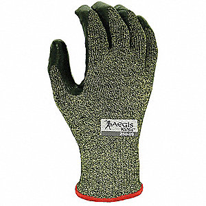 Cut Resistant Gloves,Black/Yellow,2XL,PR