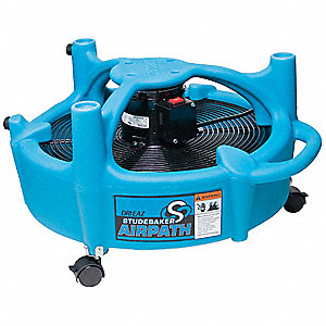 360 Degrees 2 Speed Portable Blower/Dryer, 5500 CFM High, 115V Voltage
