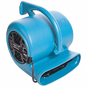 Carpet/Floor Dryer,115V,2700 cfm,Blue