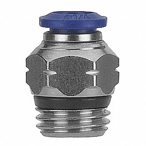 "1/8"" Metal Male Connector"
