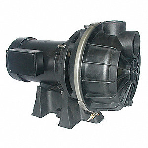 Pump,3/4 HP,3Ph,208 to 240/480VAC