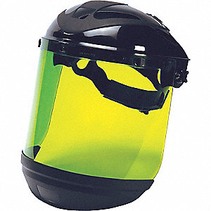 Faceshield Assembly,Dark Green