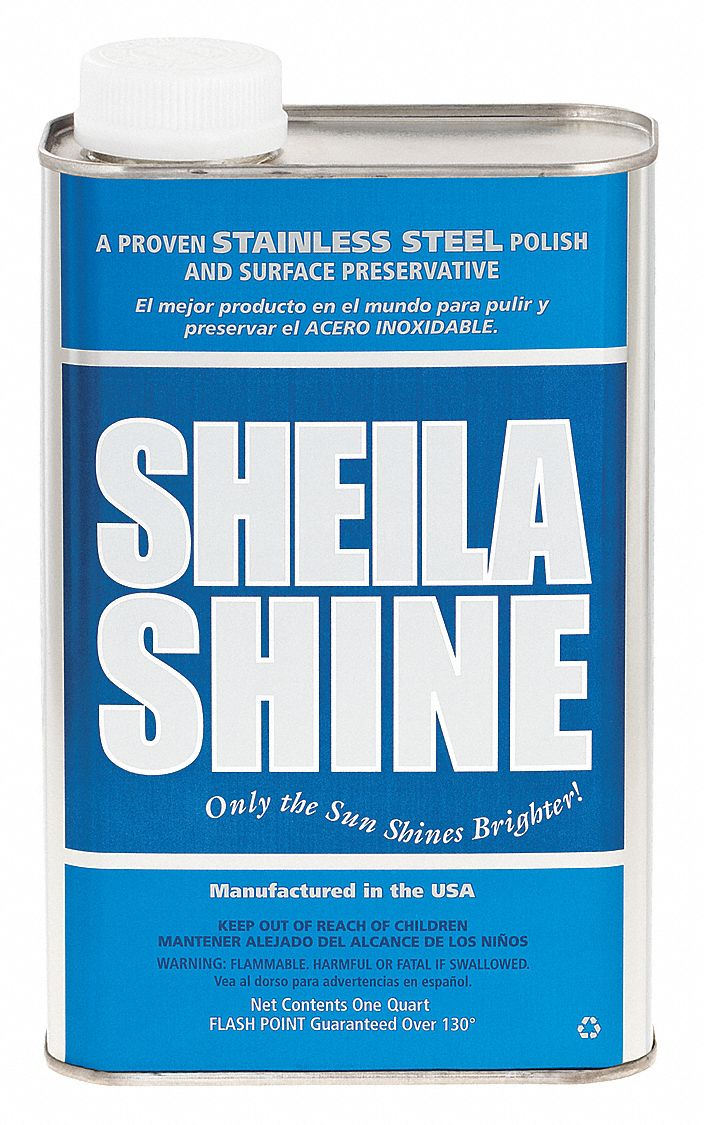 Metal Polish,  1 qt,  Non Aerosol Can,  Unscented Fragrance,  Liquid,  Ready to Use
