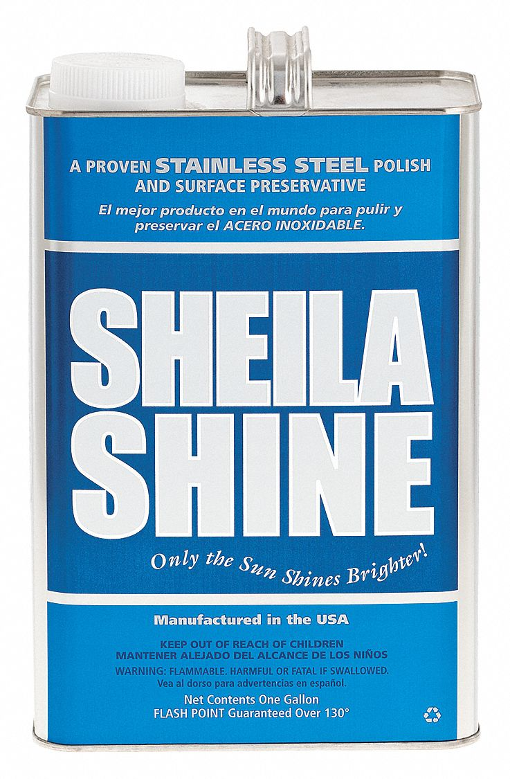 Metal Polish,  1 gal,  Non Aerosol Can,  Unscented Fragrance,  Liquid,  Ready to Use