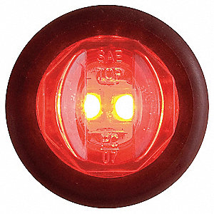 Clearance/Marker Lamp,FMVSS PC,Round