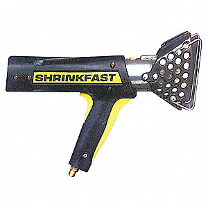 Propane Shrink Gun, Variable Temp. Settings, 600° to 1000°F